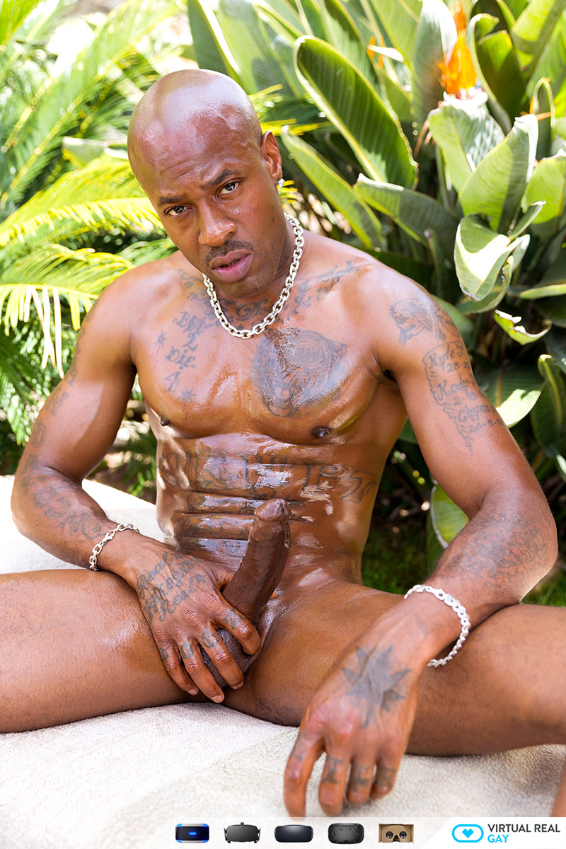 black man masturbating vr