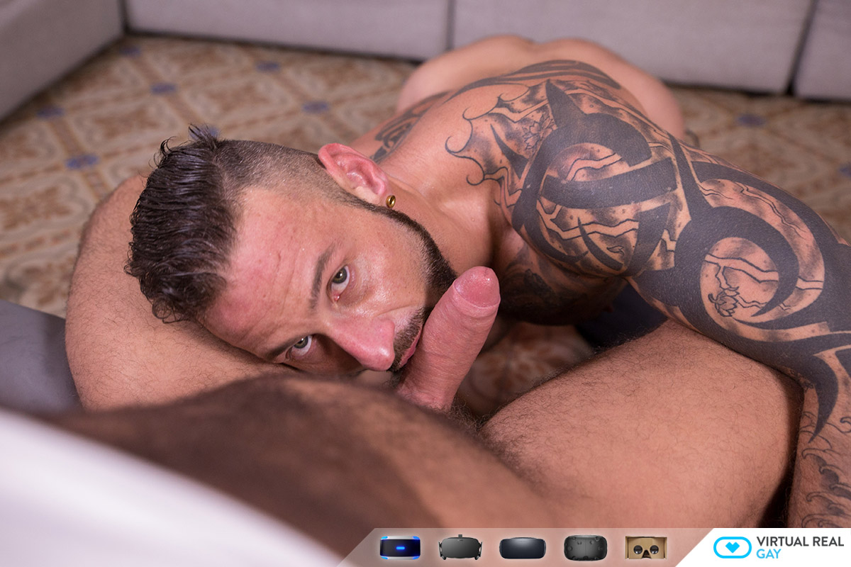 gay sex 3D pov 5k vr porn