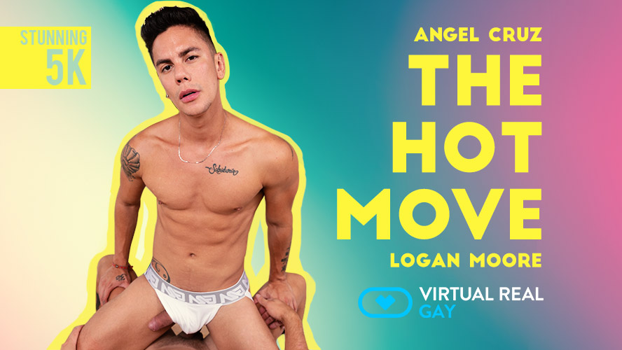 The Hot Move Angel Cruz video poster