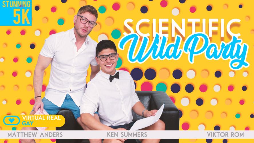 VirtualRealGay Scientific Wild Party