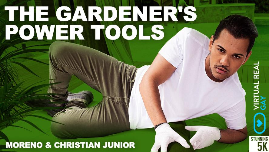 VirtualRealGay - The Gardener's Power Tools VR poster