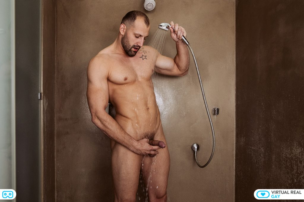 Pavel Sora in Long Shower